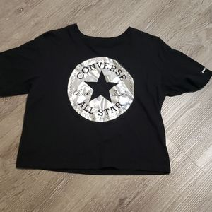 Final clearance! Cropped Converse All star shirt